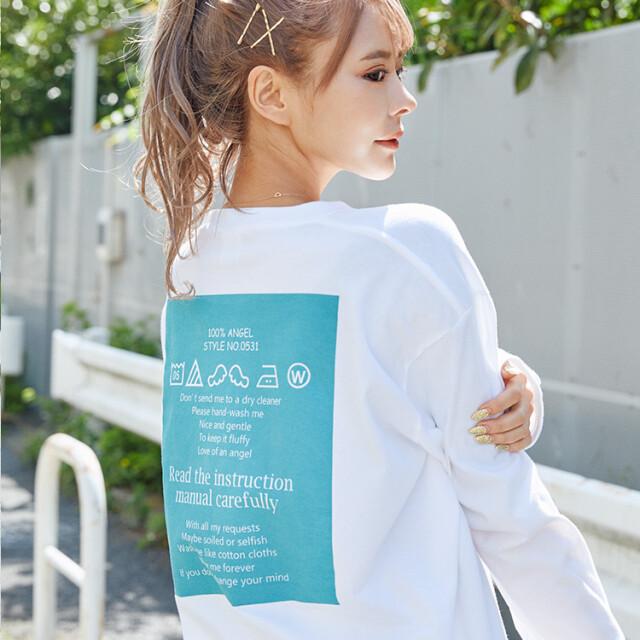 渚りお オリジナルロングTシャツ